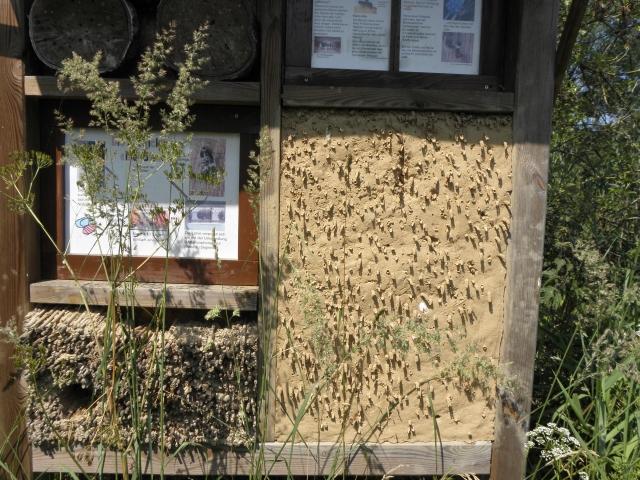 Insektenhaus in der Kita Tonndorfer SchInsektenhulstraße in Hamburg